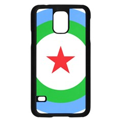 Roundel Of Djibouti Air Force  Samsung Galaxy S5 Case (black) by abbeyz71