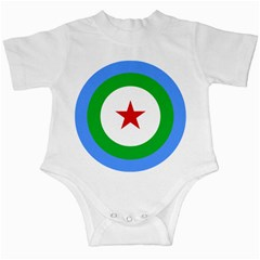 Roundel Of Djibouti Air Force Infant Creepers