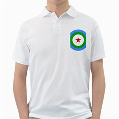 Roundel Of Djibouti Air Force Golf Shirts by abbeyz71