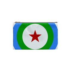 Roundel Of Djibouti Air Force Cosmetic Bag (small)  by abbeyz71