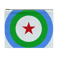 Roundel Of Djibouti Air Force Cosmetic Bag (xl) by abbeyz71