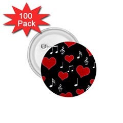 Love Song 1 75  Buttons (100 Pack)  by Valentinaart