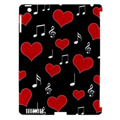 Love Song Apple Ipad 3/4 Hardshell Case (compatible With Smart Cover)