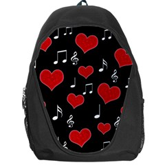 Love Song Backpack Bag by Valentinaart
