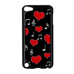 Love Song Apple Ipod Touch 5 Case (black) by Valentinaart