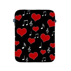 Love Song Apple Ipad 2/3/4 Protective Soft Cases by Valentinaart