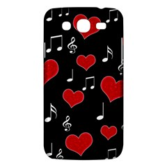 Love Song Samsung Galaxy Mega 5 8 I9152 Hardshell Case  by Valentinaart