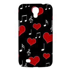 Love Song Samsung Galaxy Mega 6 3  I9200 Hardshell Case by Valentinaart