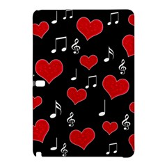 Love Song Samsung Galaxy Tab Pro 12 2 Hardshell Case by Valentinaart