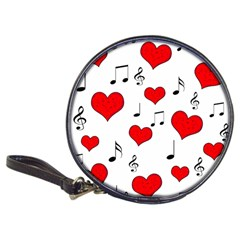 Love Song Pattern Classic 20 Cd Wallets