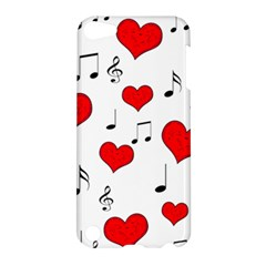 Love Song Pattern Apple Ipod Touch 5 Hardshell Case by Valentinaart