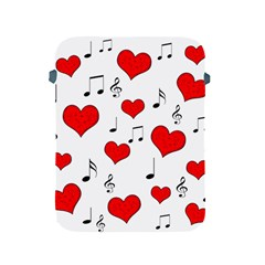Love Song Pattern Apple Ipad 2/3/4 Protective Soft Cases by Valentinaart