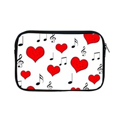 Love Song Pattern Apple Ipad Mini Zipper Cases by Valentinaart