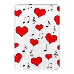 Love Song Pattern Samsung Galaxy Tab Pro 12 2 Hardshell Case by Valentinaart