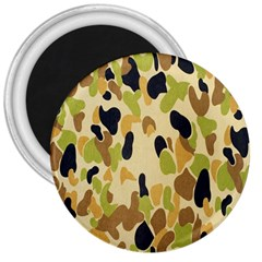 Army Camouflage Pattern 3  Magnets by Nexatart