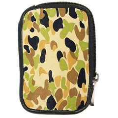 Army Camouflage Pattern Compact Camera Cases by Nexatart