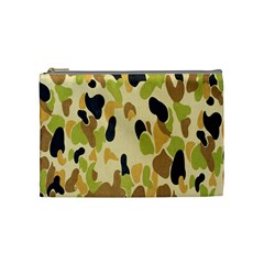Army Camouflage Pattern Cosmetic Bag (medium)  by Nexatart