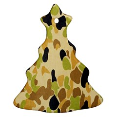 Army Camouflage Pattern Ornament (christmas Tree)