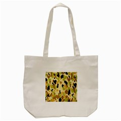 Army Camouflage Pattern Tote Bag (cream) by Nexatart