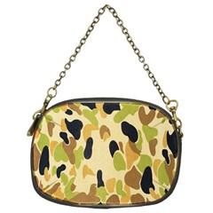 Army Camouflage Pattern Chain Purses (two Sides)