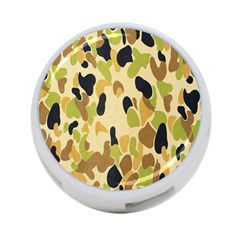Army Camouflage Pattern 4 Port Usb Hub (two Sides)