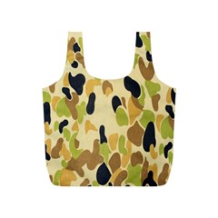 Army Camouflage Pattern Full Print Recycle Bags (s)  by Nexatart