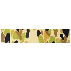 Army Camouflage Pattern Flano Scarf (small) by Nexatart