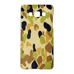 Army Camouflage Pattern Samsung Galaxy A5 Hardshell Case  by Nexatart