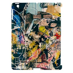 Art Graffiti Abstract Vintage Apple Ipad 3/4 Hardshell Case (compatible With Smart Cover) by Nexatart