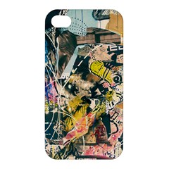 Art Graffiti Abstract Vintage Apple Iphone 4/4s Premium Hardshell Case by Nexatart