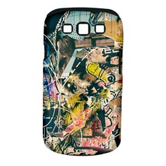 Art Graffiti Abstract Vintage Samsung Galaxy S Iii Classic Hardshell Case (pc+silicone) by Nexatart