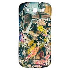 Art Graffiti Abstract Vintage Samsung Galaxy S3 S Iii Classic Hardshell Back Case by Nexatart