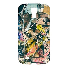Art Graffiti Abstract Vintage Samsung Galaxy S4 I9500/i9505 Hardshell Case by Nexatart
