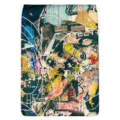 Art Graffiti Abstract Vintage Flap Covers (l)  by Nexatart