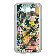 Art Graffiti Abstract Vintage Samsung Galaxy Grand Duos I9082 Case (white) by Nexatart