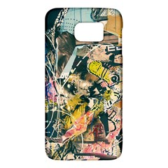 Art Graffiti Abstract Vintage Galaxy S6 by Nexatart