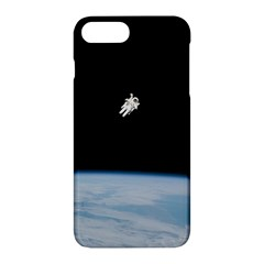 Astronaut Floating Above The Blue Planet Apple Iphone 7 Plus Hardshell Case by Nexatart