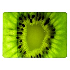 Kiwi Fruit Slices Cut Macro Green Samsung Galaxy Tab 10 1  P7500 Flip Case