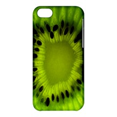 Kiwi Fruit Slices Cut Macro Green Apple Iphone 5c Hardshell Case by Alisyart