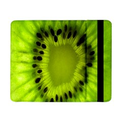Kiwi Fruit Slices Cut Macro Green Samsung Galaxy Tab Pro 8 4  Flip Case by Alisyart