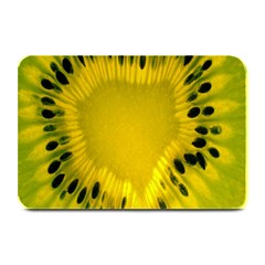 Kiwi Fruit Slices Cut Macro Green Yellow Plate Mats