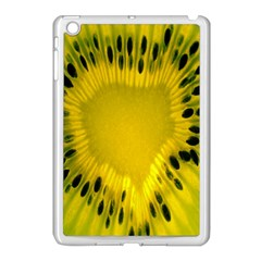 Kiwi Fruit Slices Cut Macro Green Yellow Apple Ipad Mini Case (white)