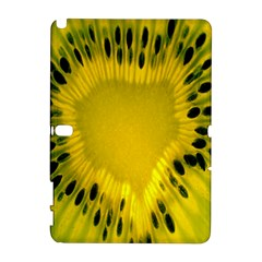 Kiwi Fruit Slices Cut Macro Green Yellow Galaxy Note 1 by Alisyart