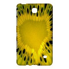 Kiwi Fruit Slices Cut Macro Green Yellow Samsung Galaxy Tab 4 (8 ) Hardshell Case  by Alisyart