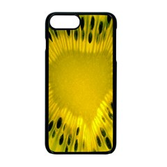 Kiwi Fruit Slices Cut Macro Green Yellow Apple Iphone 7 Plus Seamless Case (black) by Alisyart