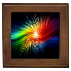 Lamp Light Galaxy Space Color Framed Tiles