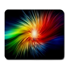 Lamp Light Galaxy Space Color Large Mousepads