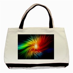 Lamp Light Galaxy Space Color Basic Tote Bag by Alisyart