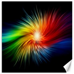 Lamp Light Galaxy Space Color Canvas 20  X 20