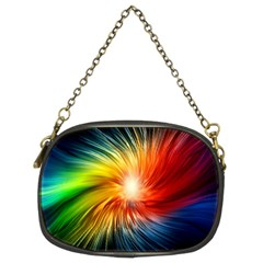 Lamp Light Galaxy Space Color Chain Purses (two Sides)